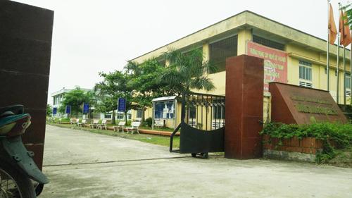 Trường trung cấp nghề số 1 Hà Nội, nơi phát hiện nam bảo vệ chết bất thường