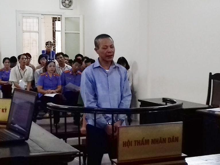 Bị cáo Nguyễn Văn Kỳ đã bị tòa sơ thẩm tuyên án tử hình