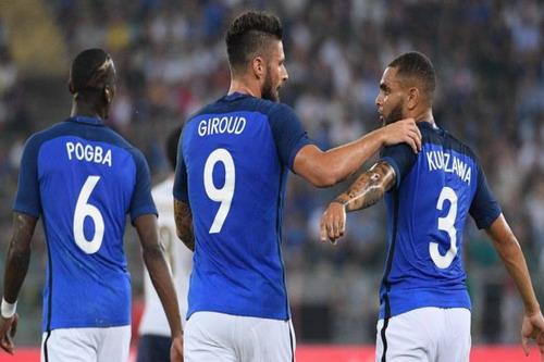 Ba cầu thủ ghi bàn cho tuyển Pháp
