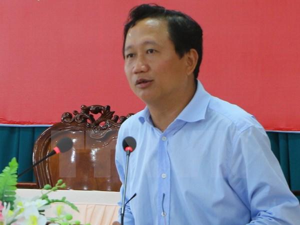 Ông Trịnh Xuân Thanh đã bị bác tư cách đại biểu QH - Ảnh: TTXVN