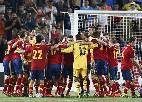 Tuyển U21 Tây Ban Nha vô địch châu Âu năm 2013