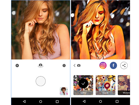 Ứng dụng sửa ảnh Prisma đã có cho Android