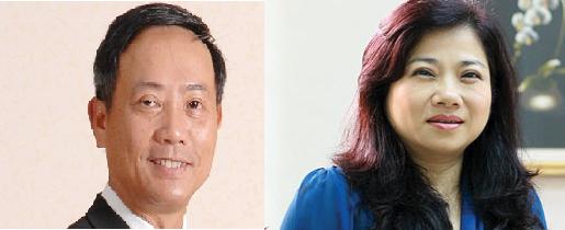 Ông Trần Văn Dũng và bà Phan Thị Tường Tâm