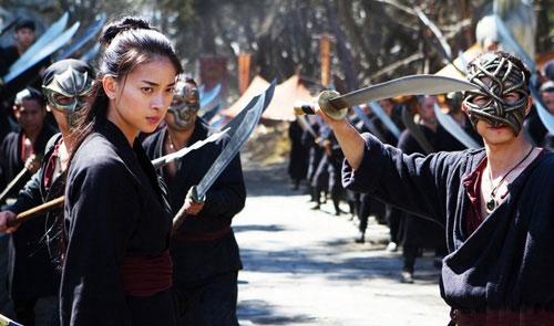 Ngô Thanh Vân trong phim Ngọa hổ tàng long 2