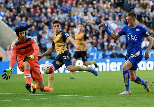 Jamie Vardy là mũi nhọn nguy hiểm của Leicester