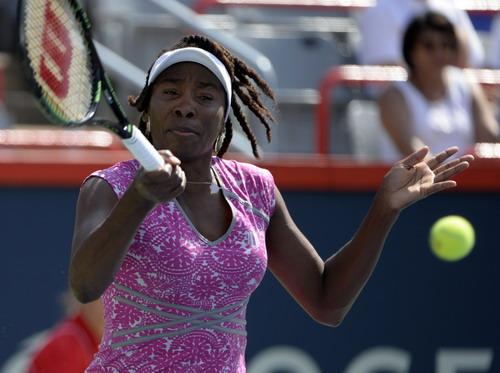 Venus Williams quá mạnh trước các đối thủ đàn em