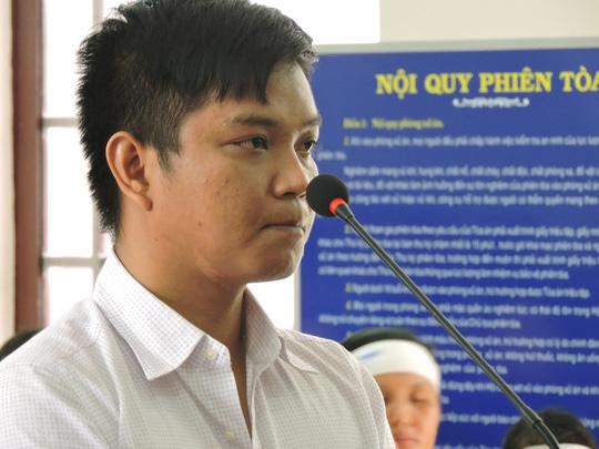 Bị cáo Phạm Hồng Tuân tại phiên xét xử ngày 12-1