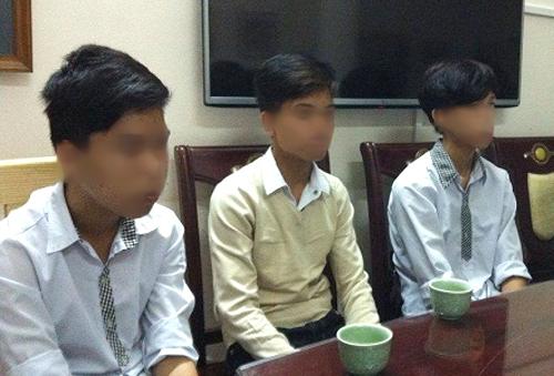 3 học sinh Trường THSC Vũ Tiến bị đình chỉ học tập 6 tháng - Ảnh: GĐ&XH