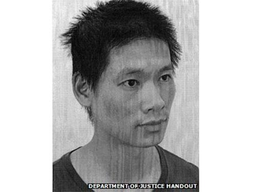 Nghi phạm khủng bố gốc Việt Minh Quang Pham. Ảnh: Department of Justice
