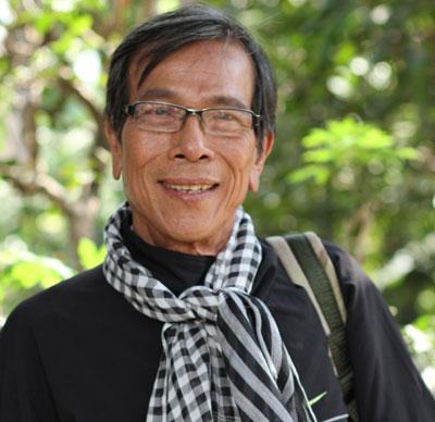 Hình ảnh ông già Nam Bộ trong phim Duyên trầu cau. Ảnh: ĐPCC