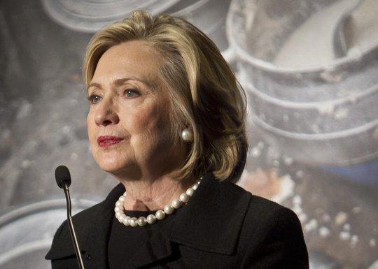 """Ông Obama cho rằng bà Hillary sẽ là """"một ứng viên đáng gờm"""" và sẽ là tổng thống tuyệt vời. Ảnh: AP"""