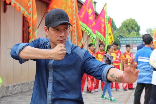 Bình Minh trong phim Thề không gục ngã