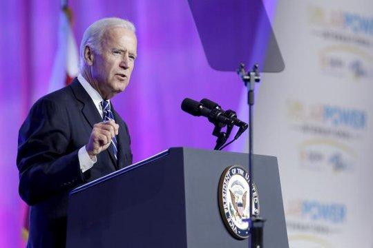 Phó Tổng thống Mỹ Joe Biden. Ảnh: Reuters