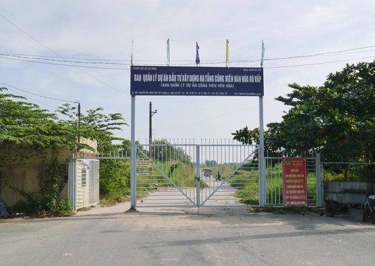 Dự án Công viên văn hóa Gò Vấp, tọa lạc trên đường Nguyễn Văn Lượng, do Ban Quản lý dự án đầu tư xây dựng hạ tầng Công viên văn hóa Gò Vấp (thuộc UBND quận Gò Vấp) làm chủ đầu tư. Tổng mức đầu tư hạ tầng ban đầu vào khoảng 98 tỉ đồng, trải dài trên một khu đất vàng rộng hơn 37 ha.