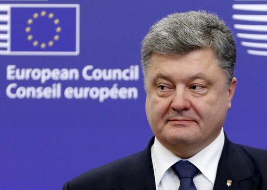 Tổng thống Ukraine Petro Poroshenko. Ảnh: Reuters