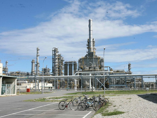 Nhà máy lọc dầu Dung Quất - Ảnh: Đào Ngọc Thạch