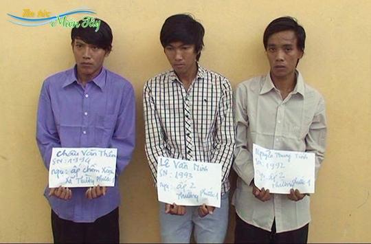 Nhóm thanh niên giăng dây điện ngang đường, chờ nạn nhân té ngã để cướp tài sản
