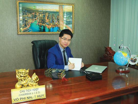 Chủ tịch, Tổng giám đốc 28 tuổi của Tập đoàn Big Group đang sở hữu 5 công ty