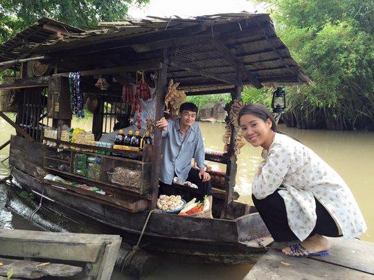 Lê Phương đóng cặp với diễn viên Quốc Thái