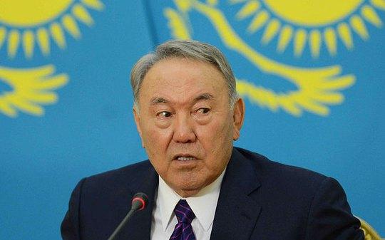 Tổng thống Nursultan Nazarbayev. Ảnh: Rex
