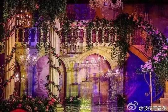 Lễ đường trong đám cưới Hiểu Minh và Angelababy