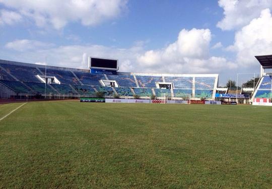 SVĐ Thuwunna - nơi diễn ra các trận đấu của bảng G vòng loại U19 châu Á