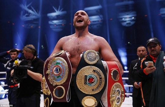 Võ sĩ thách đấu Tyson Fury