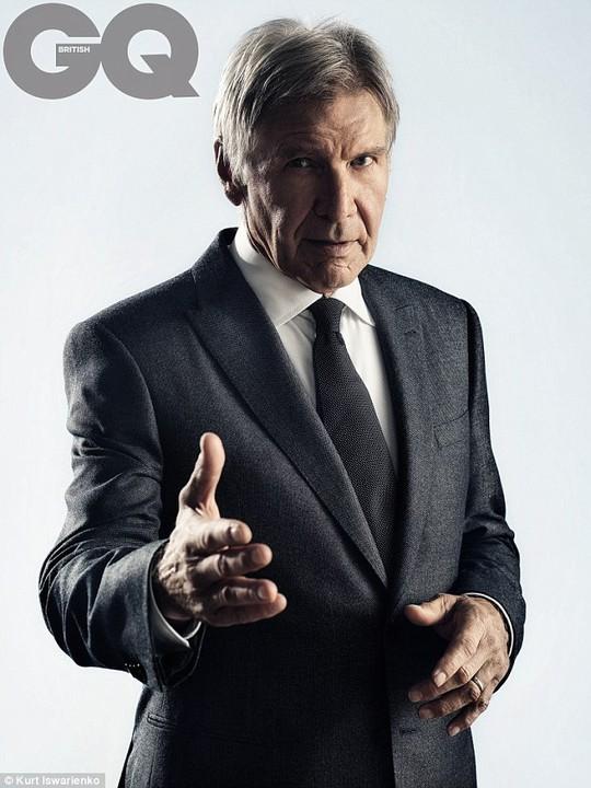 Harrison Ford thổ lộ về vụ tai nạn