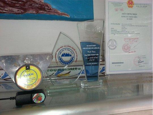Sản phẩm của đã giành được nhiều giải thưởng về khoa học kỹ thuật