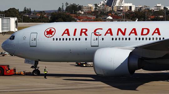 Máy bay chuyển hướng đến TP Calgary vì nhiễu động mạnh. Ảnh: Reuters