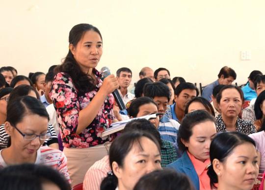 CNVC-LĐ quận Tân Bình, TP HCM đặt câu hỏi với lãnh đạo quận