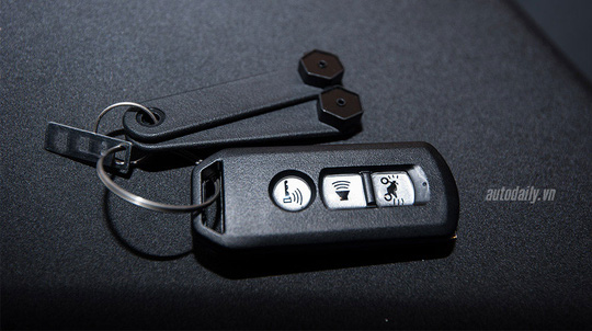 Chìa khoá trên Honda SH 2015.