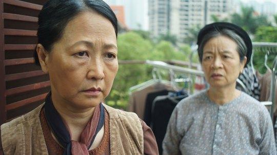 """NSND Như Quỳnh trong phim """"Lời ru mùa đông""""Ảnh: HOÀNG DƯƠNG"""