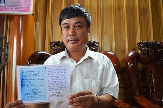 Ông Phan Huy Thanh và lưu bút của Tổng thư ký Liên hợp quốc Ban Ki-moon