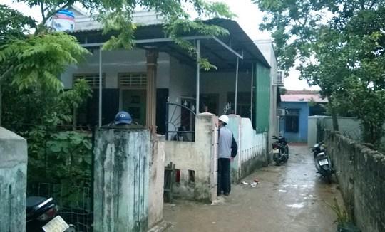 Ngôi nhà nơi xảy ra thảm sát trong gia đình.