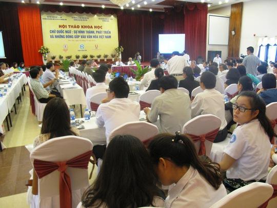 """Hội thảo về """"Chữ quốc ngữ: Sự hình thành, phát triển và những đóng góp vào văn hóa Việt Nam"""" diễn ra tại Phú Yên"""