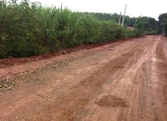 Đoạn đường nơi xảy ra vụ việc anh Phạm Văn Quân bị đâm chết