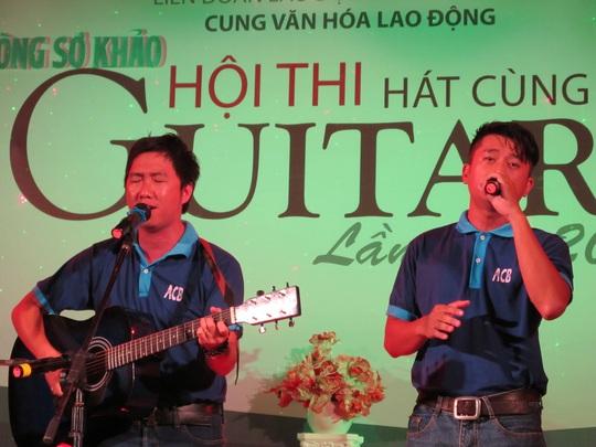 CNVC-LĐ tham gia hội thi Hát cùng guitar do Cung VHLĐ TP HCM tổ chức