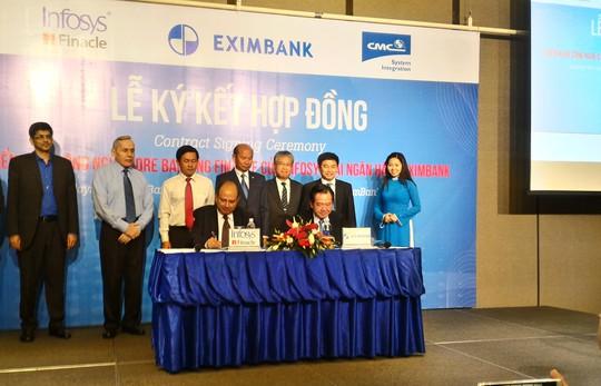 Eximbank sẽ thay dần hệ thống core banking với kỳ vọng tạo đột phá trong sản phẩm dịch vụ