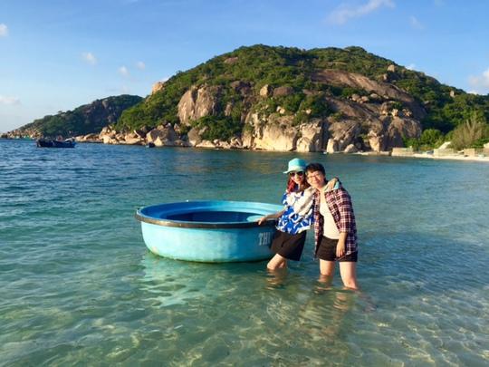 Phong cảnh hoang sơ đẹp hút hồn trên đảo Bình Ba