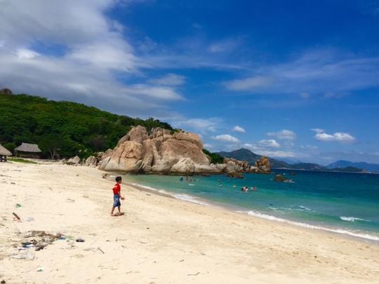 Vẻ đẹp khó quên của đảo Bình Hưng