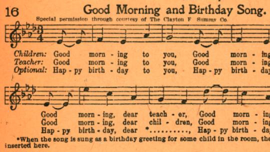 """Ca khúc """"Happy birthday""""  là tài sản chung của nhân loại"""
