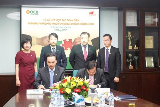 OCB và Công ty Đặng Huỳnh ký kết hợp tác toàn diện