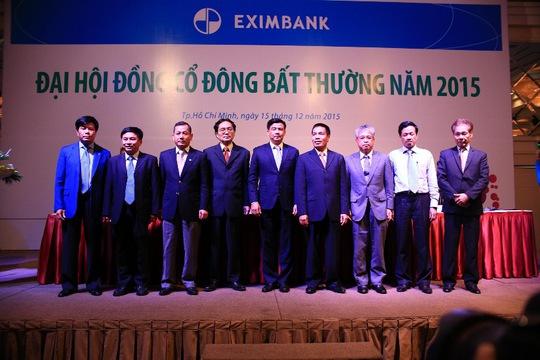 Các Thành viên HĐQT Eximbank nhiệm kỳ 2015-2020