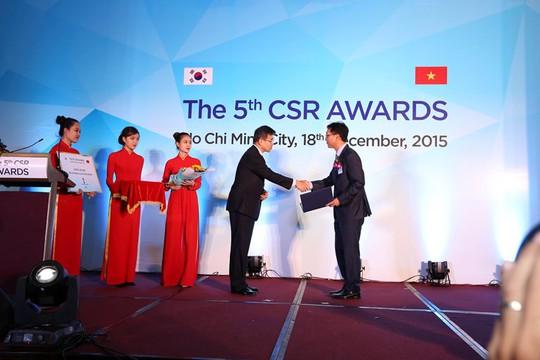 Doanh nghiệp nhận Giải thưởng trách nhiệm xã hội của doanh nghiệp Hàn Quốc – Việt Nam