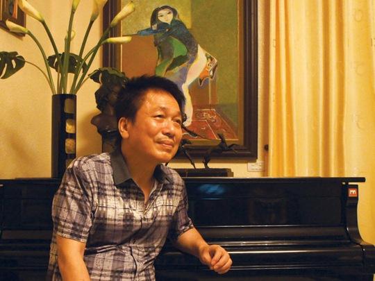 """Nhạc sĩ Phú Quang cho biết ông vẫn nhớ rất rõ về thời điểm ra đời của bài thơ """"Buổi sáng"""" mà Phan Ngọc Thường Đoan cho ông xem và phổ nhạc."""
