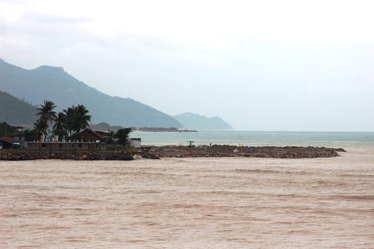 Khu vực lấn biển của Nha Trang Sao- ảnh Kỳ Nam