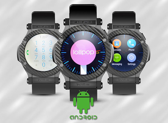 Omate Rise: Smartwatch chạy Android 5.1, có SIM 3G