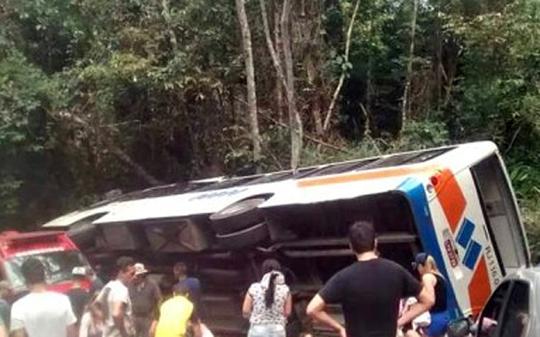 Hiện trường vụ tai nạn. Ảnh: Telegraph