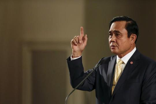 Thủ tướng Prayuth Chan-ocha cho biết các nghi phạm vẫn có quyền kháng cáo. Ảnh: Reuters